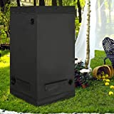 <span class='highlight'><span class='highlight'>CASART</span></span> Plant Grow Tent Black, Reflective Water-Proof &Aluminum Foil, Rust Resistant Powder coated steel, Lighting Equipment Metal Rail, Hydroponic Grow Room for Indoor (Type 1: 80 x 80 x 160 cm)