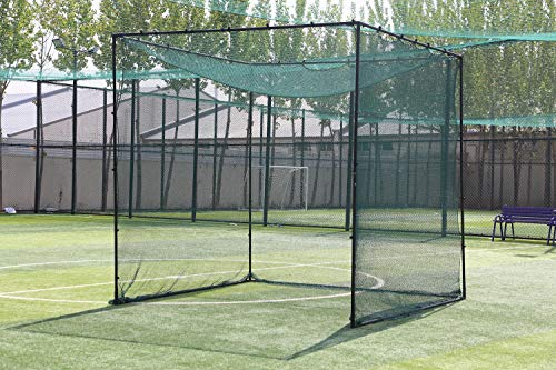Ascent Sports Deluxe 10' x 10' x 10' Golf Cage Net