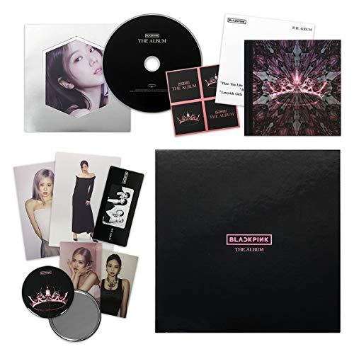THE ALBUM [ VERSION #3 ] - BLACKPINK 1st Full Album CD + Photobook + PostCard Set + Credits Sheet + Lyrics Booklet + Photocards + Postcards + Sticker + FREE GIFT