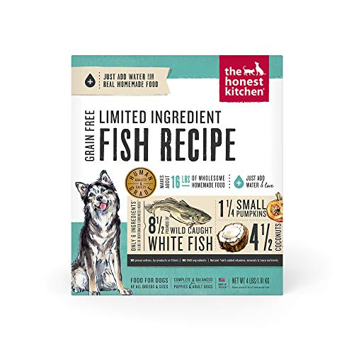 The Honest Kitchen Limited Ingredient Dehydrated Grain Free Fish Dog Food 4 lb - Brave