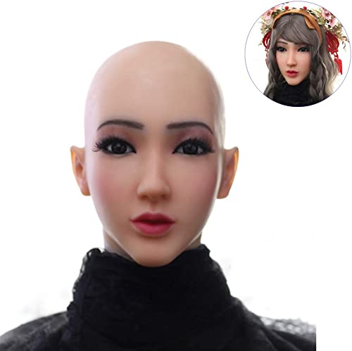 hasta un 60% de descuento WANGXN Máscara Máscara Máscara de Silicona Femenina Cara de ángel Realista Máscaras Femeninas Máscaras de Halloween Cosplay Hombre a mujer  Para tu estilo de juego a los precios más baratos.