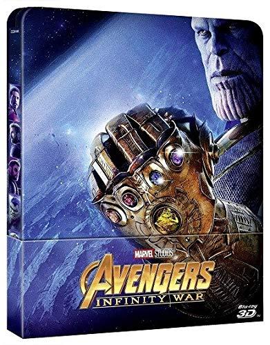 Avengers : Infinity War - Steelbook Edition Limitée [3D + 2D]
