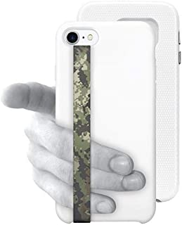 Phone Grip Finger Strap Accessory for Mobile Cell Phone, by Phone Loops (Camo)