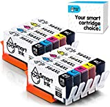 Smart Ink Compatible Ink Cartridge Replacement for HP 564XL 564 (BK,PBK,Cyan,Magenta,Yellow, 10-Pack Combo) Photosmart 5510 5520 5525 6510 6520 7525 Officejet 4620 Deskjet 3520 3522 C311a C309a C309g