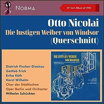 """Otto Nicolai: Die lustigen Weiber von Windsor (Querschnitt) (10"""" Album of 1955)"""