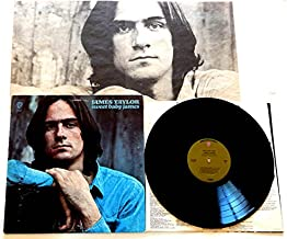 James Taylor LP Sweet Baby James - Warner Brothers Records 1970 - 1970 Green Label w/
