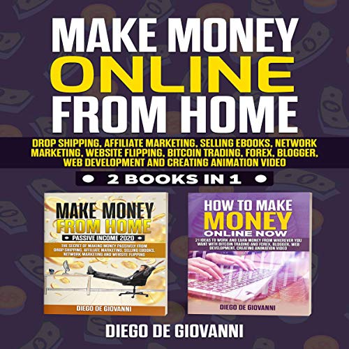 『Make Money Online from Home: 2 Books in 1』のカバーアート