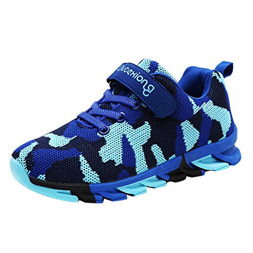 Why Choose Kids Sneakers - Camouflage Shoes Breathable Mesh Lightweight Sport Running Tennis Shoes f...