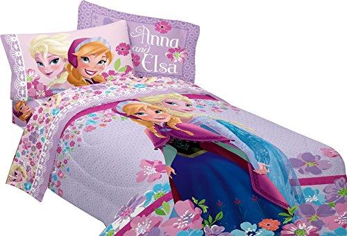 Disney Frozen Love Blooms Twin Comforter