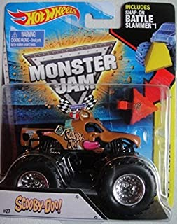 Hot Wheels Monster Jam Scooby Doo (With Snap-On Battle Slammer) 1:64 Scale