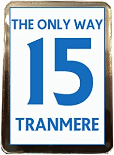 Tranmere Rovers F.C - The Only Way 15 Fridge Magnet