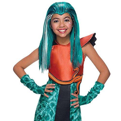 Rubie's Monster High Kinder Perücke Nefera de Nile Boo York Karneval