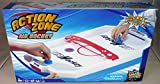 Action Zone Air Hockey Mini Table Top Game Pushers Pucks Arcade Toy Playset