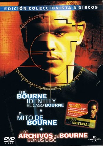 Pack Bourne - El Caso Bourne - El Mito de Bourne - Los Archivos de Bourne (bonus disc)