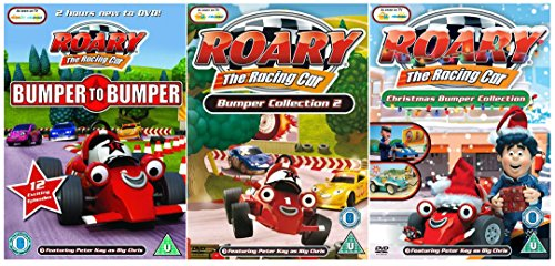 Roary the Racing Car DVD Collection - Roary The Racing Car: Bumper To Bumper / Roary the Racing Car Bumper Collection 2 / Roary the Racing Car - Christmas Bumper Collection