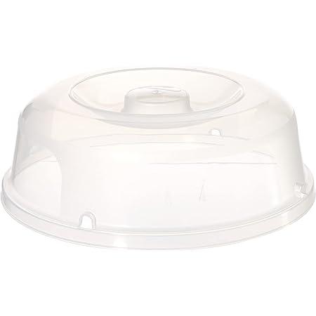 CURVER | Couvre assiette PP, Transparent, Other Kitchenware, 27x27x8,9 cm