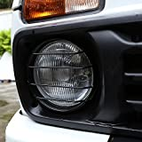 2PCS metallo anteriore fari Protector telaio Trim per Niva accessori auto...