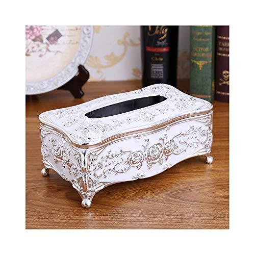 Farbiger Gewebehalter Tissue Box Cover-Tissue Box Haushaltspapier Box Desktop Tissue Bag Tissue Box Texture Cover Halter Fall Lagerung Kitchen Wet Tissue Box Regale Papier