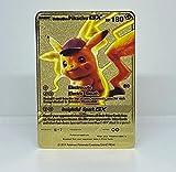 Detective Pikachu GX Gold Plated Metal Card [Custom Metal Card]