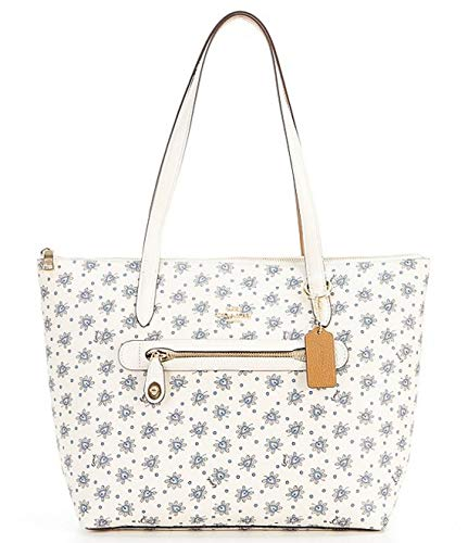 NEW AUTHENTIC COACH Women's Taylor Forest Bud Print Tote