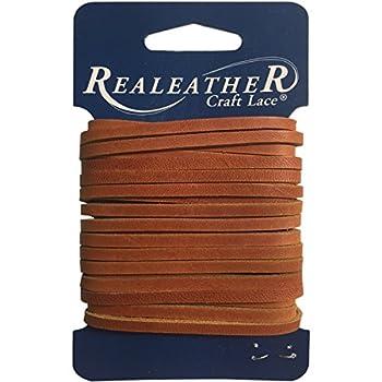 Realeather Crafts Latigo Lace.125  by 4 yd Carded Chieftan