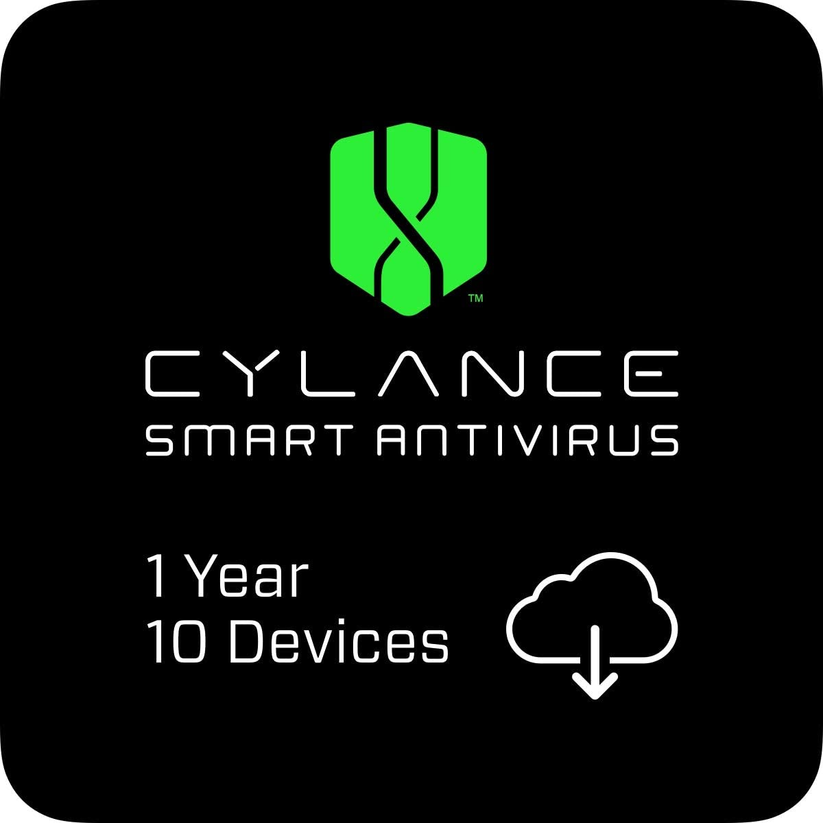 Cylance Smart Antivirus 1 Year 10 Online Large discharge sale PC Cod 70% OFF Outlet Devices Mac