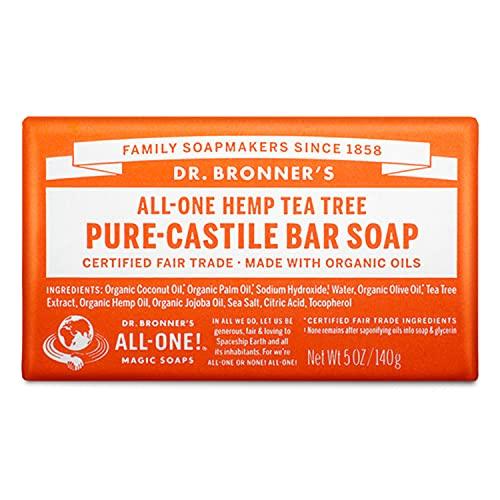Dr. Bronner's Magic Soaps, Savon de Castille pur,...