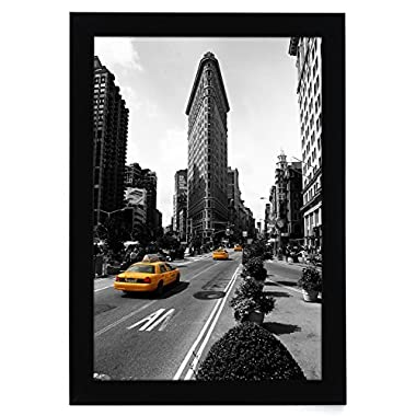 11x17 Picture Frame - Made for Legal Sized Paper - Wall Mounting Material Included
