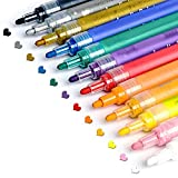 Acrylic Paint Pens for Rocks Painting, Ceramic, Glass, Wood, Fabric, Canvas, Mugs, DIY Craft Making Supplies,...