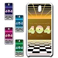 Android One S1 専用 スマホケース ハードケース カバー 80's ヴェイパーウェイヴ 404 【デザインE】 TK-638E アンドロイド ワン エス ワン