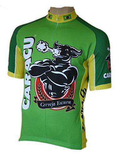 Maglia da ciclismo Caracu Cerveza Brasil, a maniche corte, fino a taglia S 6XL