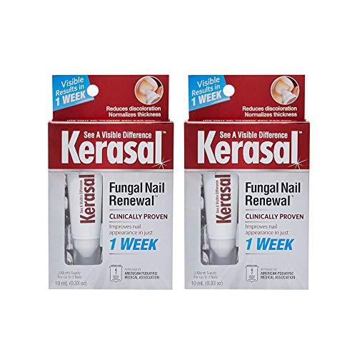 Kerasal Fungal Nail Renewal Treatment, 0.33 oz (10 ml) Each (Value Pack of 2)