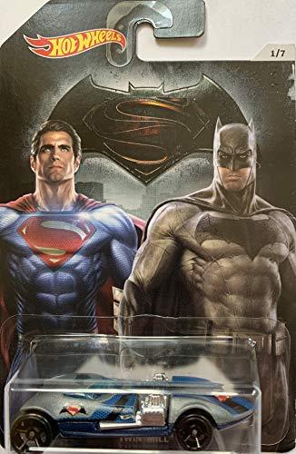 Hot Wheels - Batman vs Superman Dawn of Justicia - Doble Mill (Largo Tarjeta)