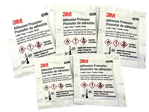 3M 4298 Adhesion Promoter, 5 Sponge Applicators (Choose 3, 5 or 25 Qty)