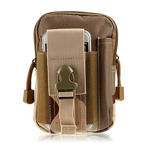 tactique sport et pochette multifonction Compact Extérieur utilitaire Gadget outil ceinture taille sac Pack, SanSha