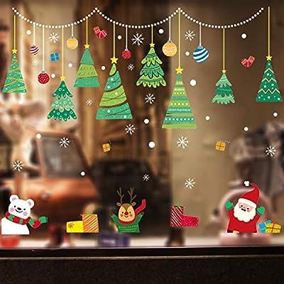 Amazon - 40% Off on Christmas Window Decorations,Christmas Snowflake Window