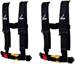 Youth Kids 4 Point Harness by Dragonfire Racing For Polaris RZR Can Am X3 Arctic Cat Wildcat Teryx Yamaha YXZ1000R & More