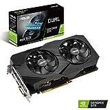 ASUS Dual Nvidia GeForce GTX 1660 Super 6GB EVO Advanced Edition Gaming Grafikkarte