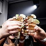 12 Schnapsgläser Shotgläser Set Glas 4cl | Standfest - Spülmaschinenfest | Pinnchen Gläser für Tequila Wodka - 7