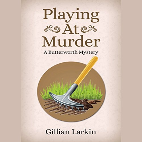 Playing at Murder audiobook cover art