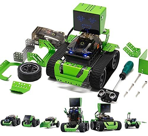 Robot Kit Toy Building & Graphical Programming, Qoopers Robotics STEM Education Arduino...