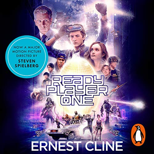 Ready Player One audiobook cover art