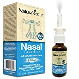 NaturaNectar Nasal Guardian Spray, All Natural Saline Nasal Spray & Sinus Rinse, Sinus Relief - Immune Support With Brazilian Bee Propolis, Gentle / No Burning Sensation, 1 FL Ounce