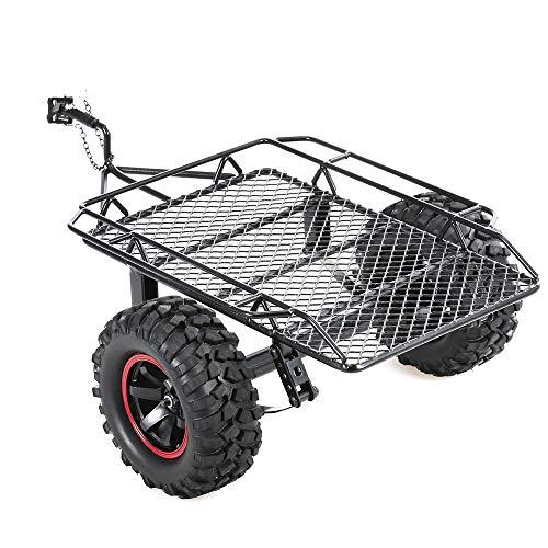 GoolRC Trailer Car Hopper Trail for 1/10 Traxxas HSP Redcat RC4WD Tamiya Axial SCX10 D90 HPI RC Crawler Car DIY