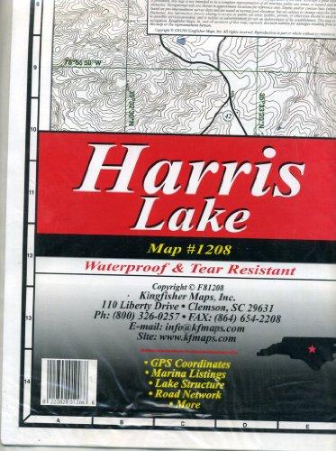 kingfisher Mappa Shearon Harris Reservoir Lake