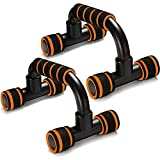 QLG&S <span class='highlight'>Push</span> <span class='highlight'>Up</span> <span class='highlight'>Bars</span> - Home Workout Equipment <span class='highlight'>Push</span><span class='highlight'>up</span> <span class='highlight'>Handle</span> <span class='highlight'>with</span> Cushioned Foam <span class='highlight'>Grip</span> and Non-Slip Sturdy Structure - Portable <span class='highlight'>Push</span><span class='highlight'>up</span> <span class='highlight'>Stand</span>s <span class='highlight'>for</span> Home Fitness (Orange)