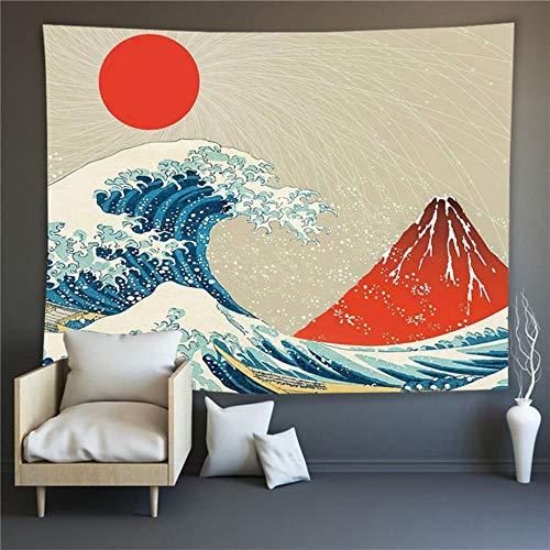 Ukiyo-E Serie Wandteppiche Wanddekoration Stoff Kunst Hängen Malerei Hintergrund Stoff Wandbehang Wandteppich