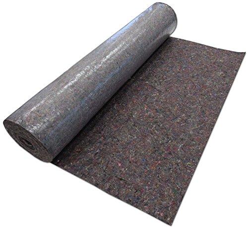 Unbekannt 1 m x 50 m Abdeckvlies 50m² 180 gr mit PE-Schicht (Dreierpack)