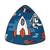 Bennigiry Astronaut Spaceship Alien Planet Rocket Set de 6 posavasos para bebidas caseras taza taza café cerveza