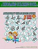 Dinosaurs Coloring Book: 30 Funny Iguanodon, Dinosaurs, Styracosaurus, Pachycephalosaurus, Graciliceratops, Triceratops, Pliosaurus, Quetzalcoatlus For Children Image Quiz Words Activity Coloring Book